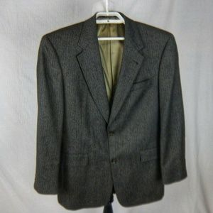 Austin Reed Two Button Gray Sport Coat 41 R